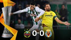 El Villarreal sumó un punto en Viena y sigue siendo líder del grupo G. (AFP)