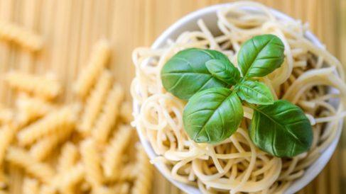 la pasta no engorda y que aportan vitaminas y minerales