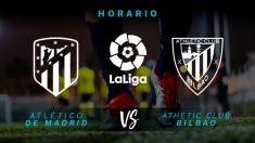Liga Santander 2018-19: Atlético – Athletic Club | Horario del partido de fútbol de la Liga Santander.