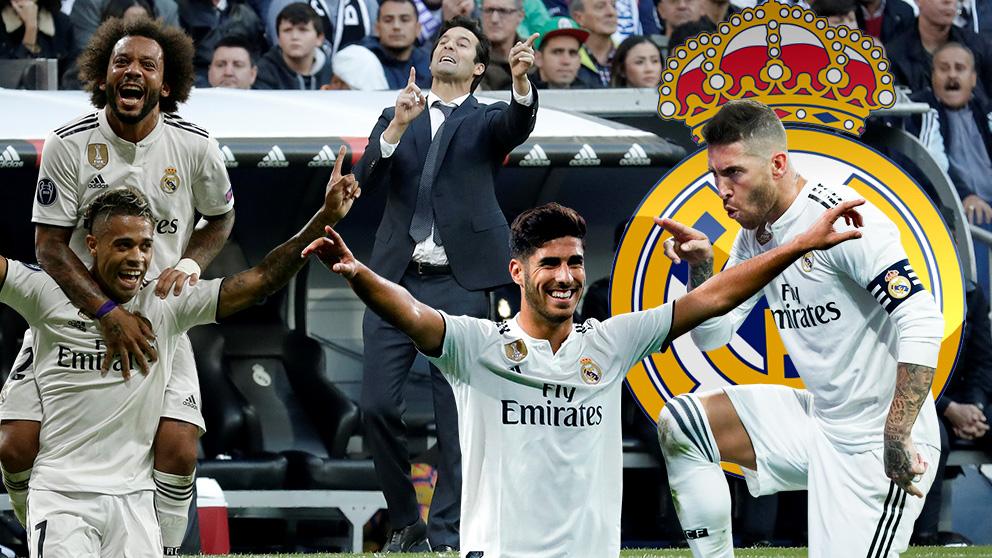 La plantilla del Real Madrid quiere a Solari hasta final de temporada.