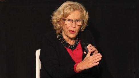 La alcaldesa de Madrid, Manuela Carmena. (Foto. Madrid)