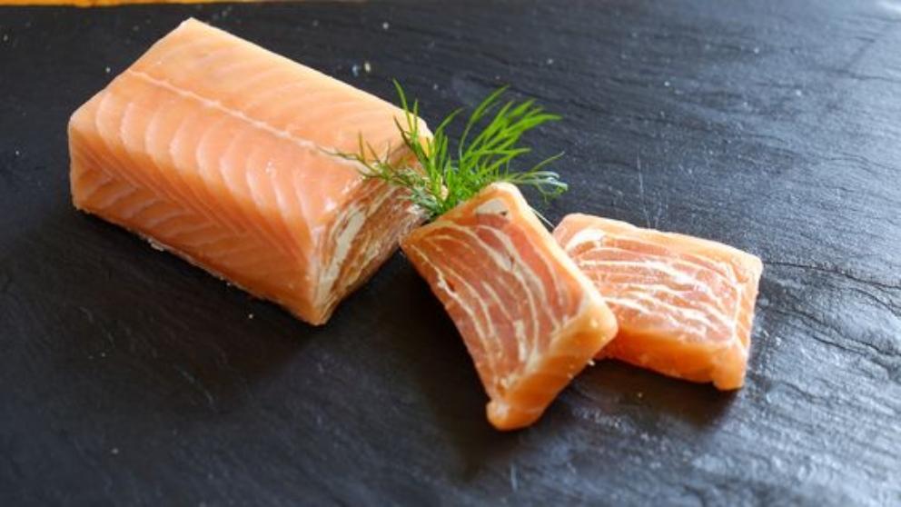 Receta de milhojas de salmón