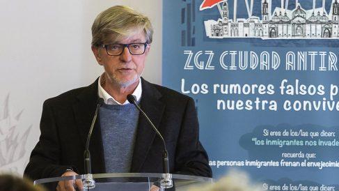 Pedro Santisteve, alcalde de Zaragoza. (Foto. Zaragoza)
