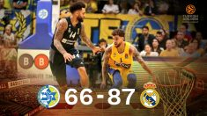 El Real Madrid sigue invicto en Euroliga.