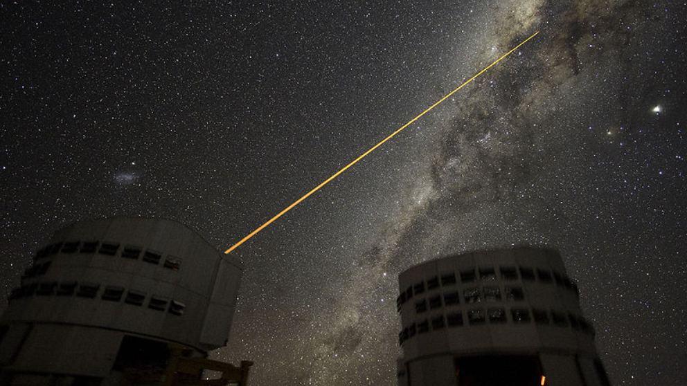 Un rayo láser para detectar señales de vida extraterrestre inteligente