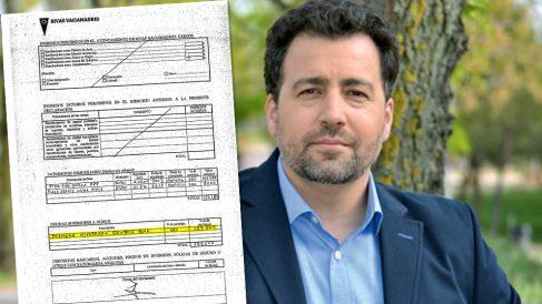 El alcalde de Rivas Vaciamadrid (IU), Pedro del Cura, y su declaración de bienes.
