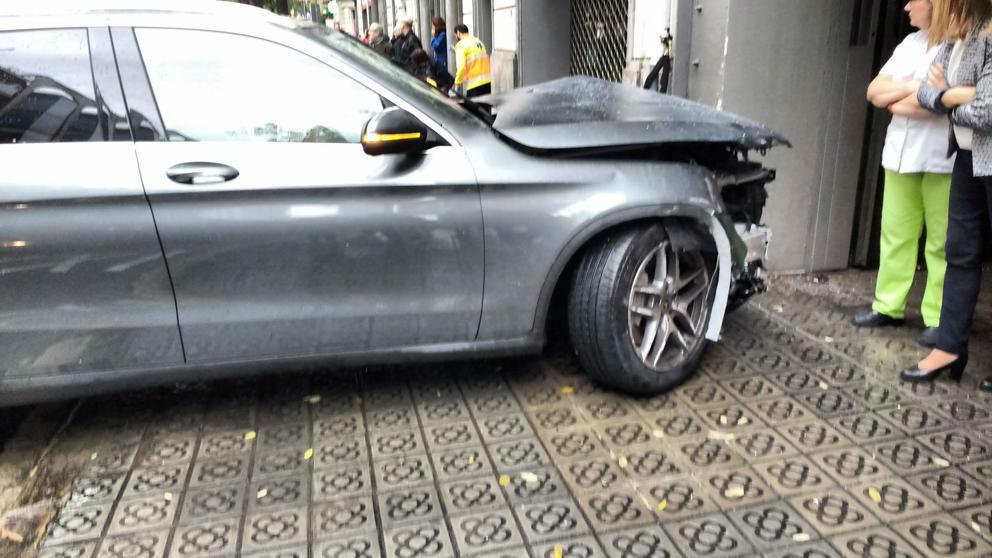 Un accidente en Barcelona