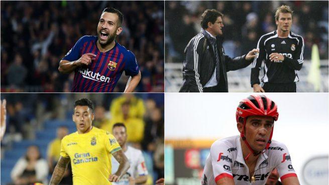 Jordi Alba y otros deportistas que fueron perdonados por sus actos