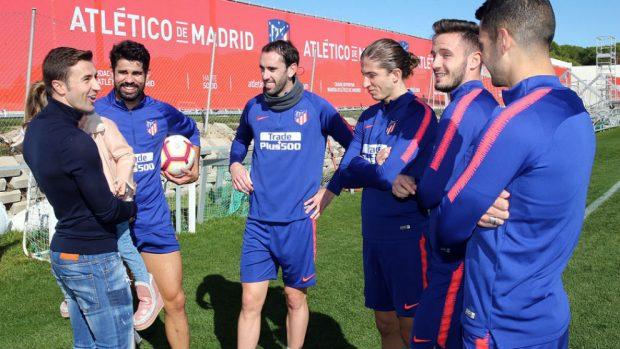 Gabi se despedirá del Atlético y de la afición frente al Espanyol