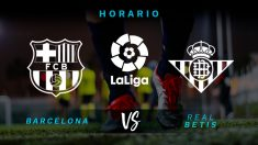 Liga Santander 2018: Barcelona – Betis| Partido de fútbol hoy, en directo.