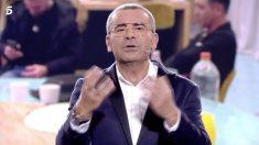 Jorge Javier Vázquez desmiente el tongo en 'GH VIP 2018'