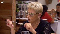 María, una mujer con gordofobia en 'First Dates'
