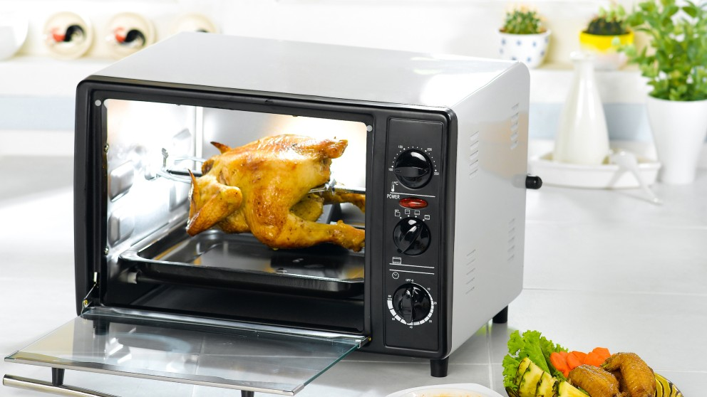Receta de pollo asado en microondas
