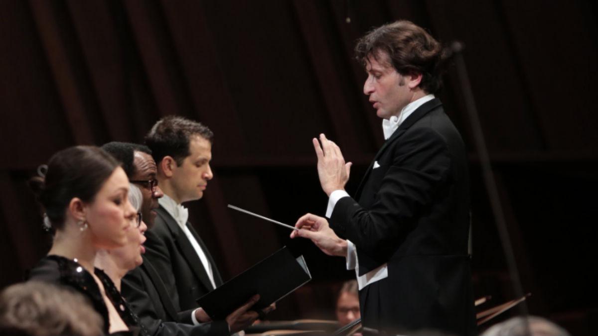 Gustavo Gimeno (Orquesta Filarmónica de Luxemburgo).