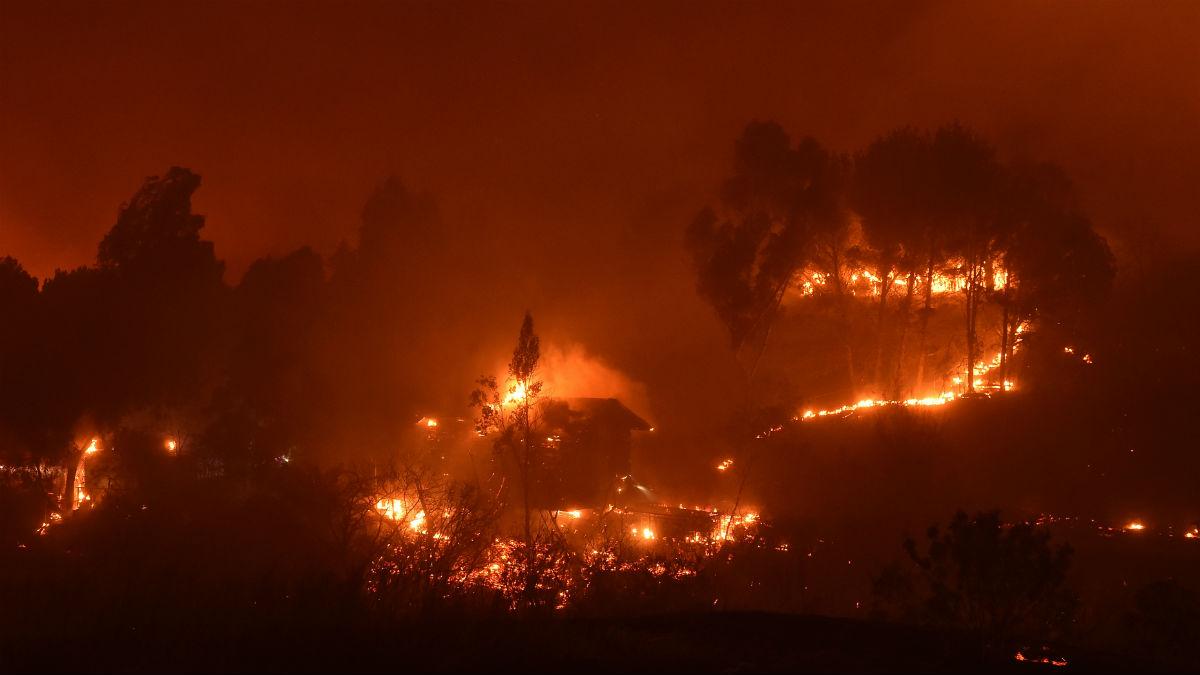 Incendios en California (AFP).