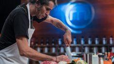 Mario Vaquerizo en la semifinal de 'MasterChef Celebrity'. (Foto: RTVE)