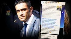 Varios agentes de la Policía Nacional comentan en un chat interno las revelaciones de OKDIARIO.