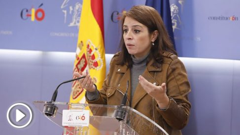 La portavoz del PSOE, Adriana Lastra. Foto: Europa Press