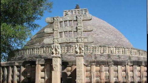 La Arquitectura Gupta muestra una gran personalidad.
