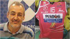 Guillem Boscana y la camiseta con la que jugará Palma.