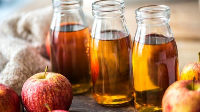 el vinagre de manzana para el cabello