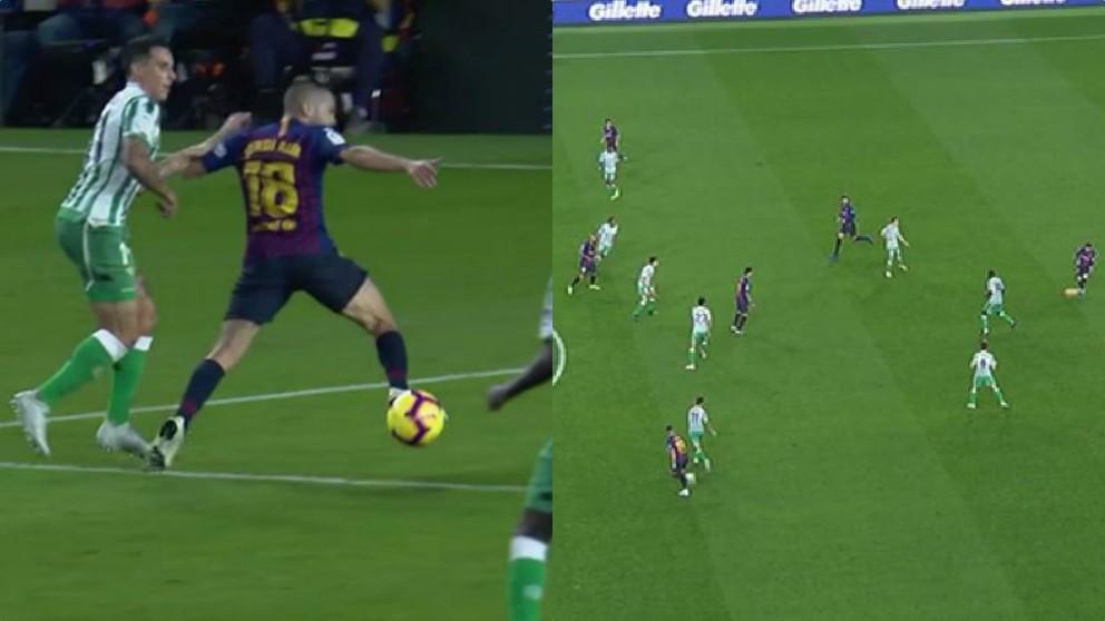 Las jugadas polémicas del Barcelona – Betis.