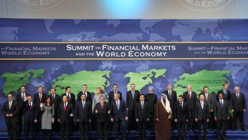 La cumbre del G-20 se celebró el 14 de noviembre de 2008 | Efemérides del 14 de noviembre de 2018