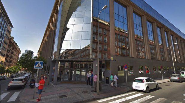 Dependencias del Ayuntamiento de Madrid donde ha empezado a trabajar Ignacio González. (Foto. GMaps)