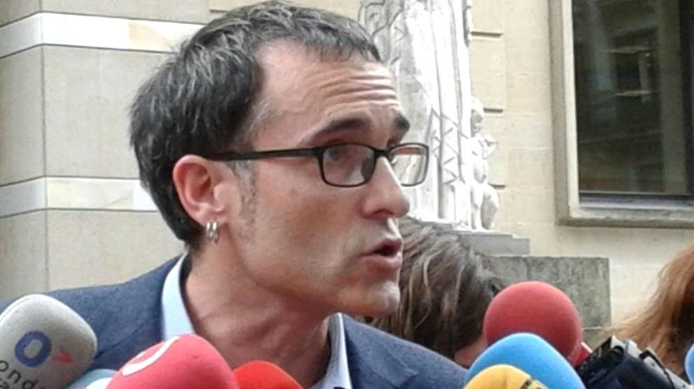 El diputado de EH Bildu en el Parlamento Vasco, Julen Arzuaga (Foto: Europa Press)