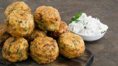 Receta de Falafel de guisantes fácil de preparar