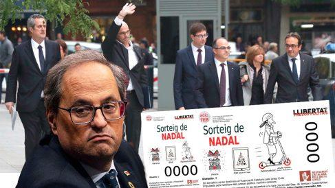 Quim Torra y el sorteo navideño amparado por la Generalitat
