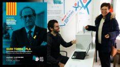 El referéndum independentista en San Sebastián que apoya el presidente de la Generalitat, Quim Torra