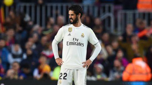 Isco, en un partido con el Real Madrid. (Getty)