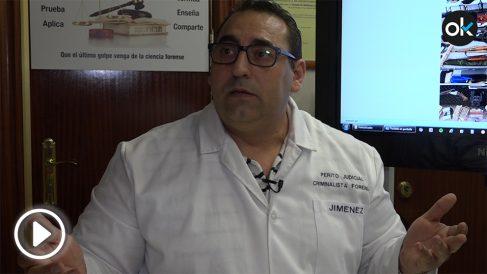 José Jiménez, perito judicial y experto en balística.