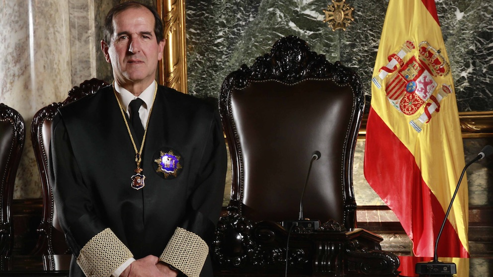 El magistrado del Tribunal Supremo, Andrés Martínez Arrieta.