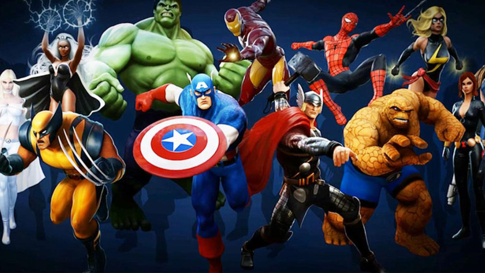 Personajes de Marvel.