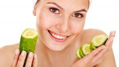El pepino tiene propiedades muy beneficiosos para la piel