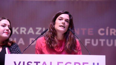 Clara Serra, número dos de Iñigo Errejón en Podemos Madrid. Foto: Europa Press