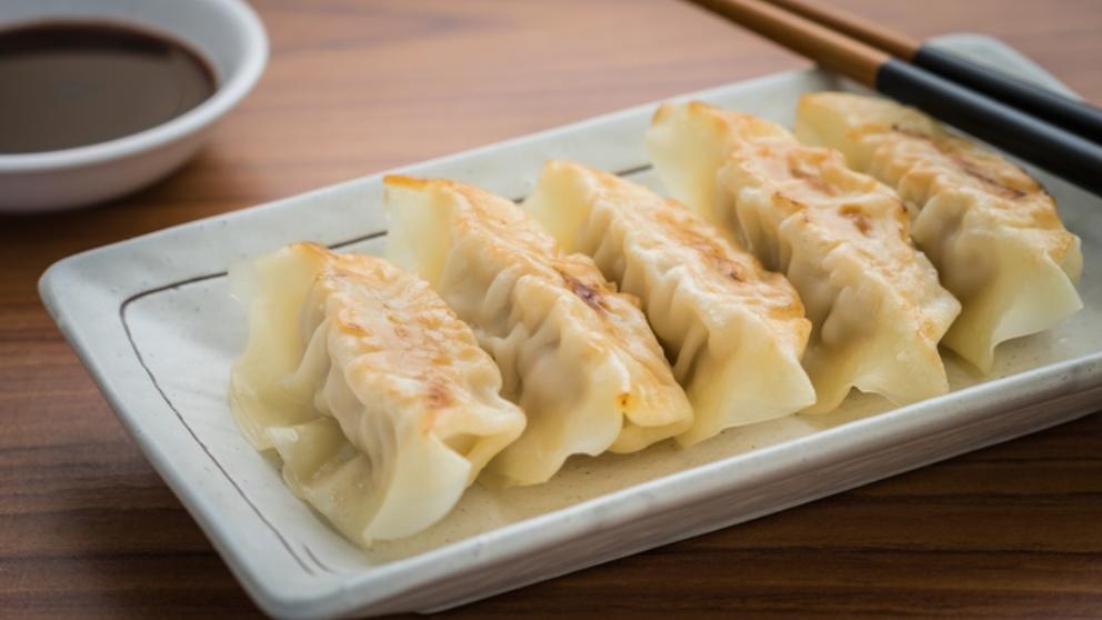 Receta de dumplings de pollo