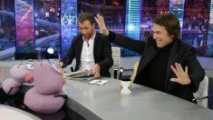 Raphael, ayer en 'eL Hormiguero'. (Foto: Antena 3)