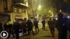 Los CDR han puesto en el objetivo de sus actos de acoso en el candidato a la Alcaldía de Barcelona, Manuel Valls.