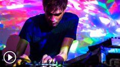 El británico Jon Hopkins durante su actuación en el festival Sónar de Barcelona. Foto: Sónar