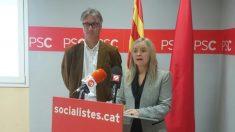Marta Moreta, diputada del PSC en el Parlamento de Cataluña.