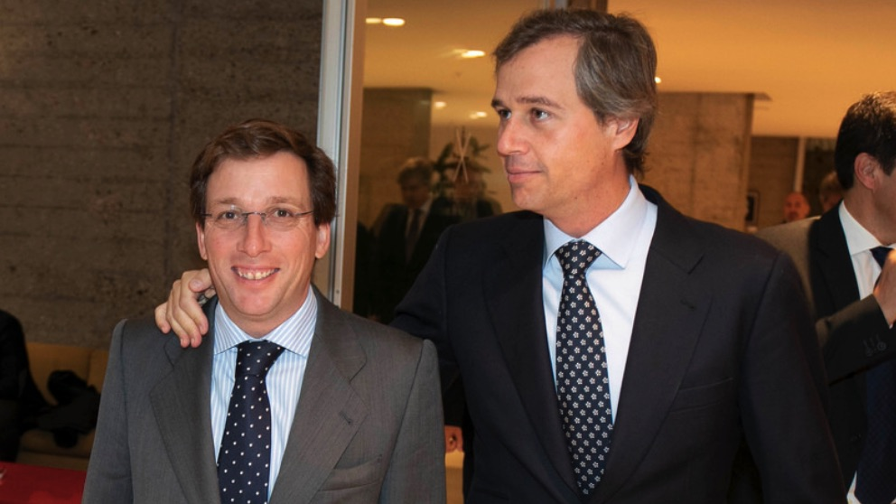 Martínez-Almeida junto a González Terol. (Foto. PP)