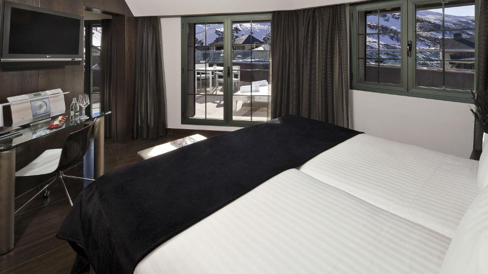 Una escapada de invierno a Sierra Nevada: espectaculares vistas y esquí en los hoteles Meliá Sol y Nieve y Meliá Sierra Nevada (Foto: Meliá)