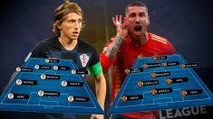España se juega el pase a la Final Four de la LIga de las Naciones en Zagreb.