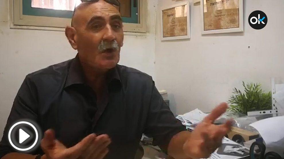 David Elhayani, alcalde del Valle del Jordán (Israel)