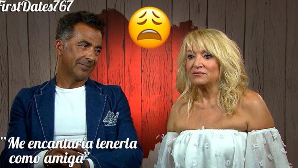 José Antonio tampoco ha tenido suerte en su segunda visita a 'First Dates'.