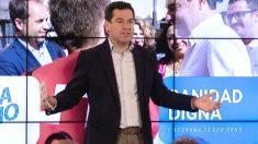 El presidente del PP Andaluz, Juanma Moreno (Foto: Efe)