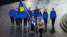 La delegación de Kosovo en los Juegos Olímpicos de Río.